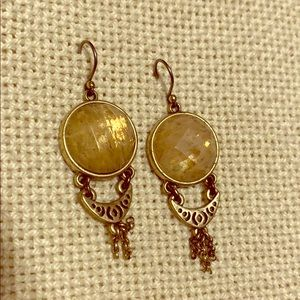 Lucky Brand amber earrings